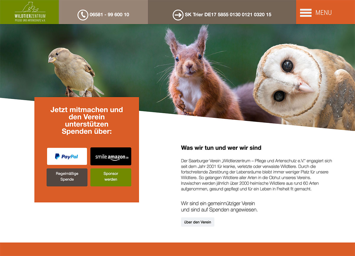 wildtierzentrum Saarburg